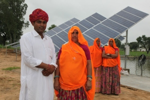 Solar pump system and owner farmers